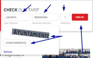 Cek Ongkir JNE Otomatis Keseluruh Indonesia
