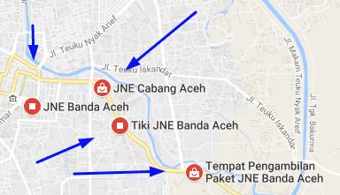 Alamat Agen JNE Aceh Besar No Telp Dan Tracking Resi