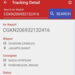 Cek No Resi JNE Otomatis Via HP Android