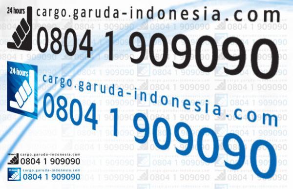 e-Cargo Garuda Track Shipment via HP